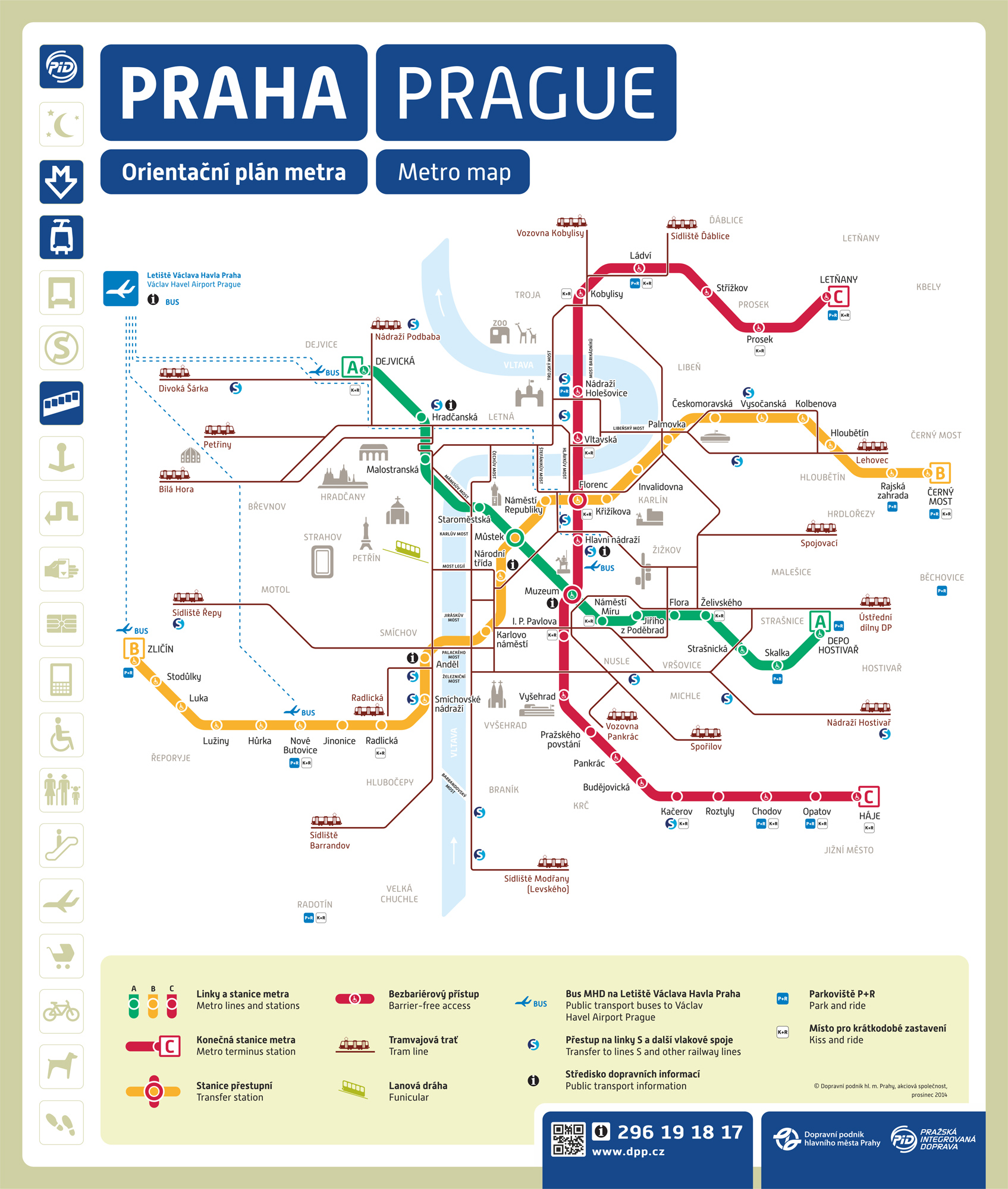 Hotel Prague City Map